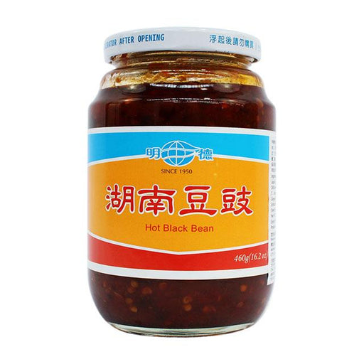 Hunan Style Spicy Black Bean Sauce by Ming Teh, 460.0 g (16.2 oz)