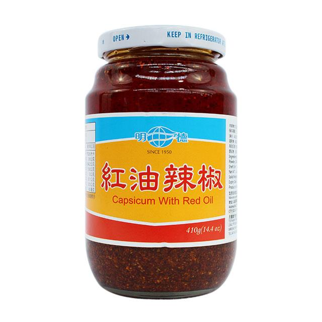 Capsicum with Red Oil by Ming Teh, 410.0 g (14.4 oz)