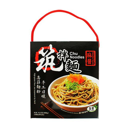 Noodles with Sesame Sauce by Chu Noodles, 400.0 g (14.1 oz)