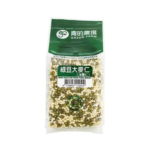 Mung Bean & Dried Pearl Barley by Green Farm, 600.0 g (21.2 oz)