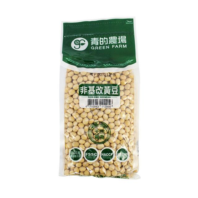 Non-GMO Soy Bean by Green Farm, 550.0 g (19.3 oz)