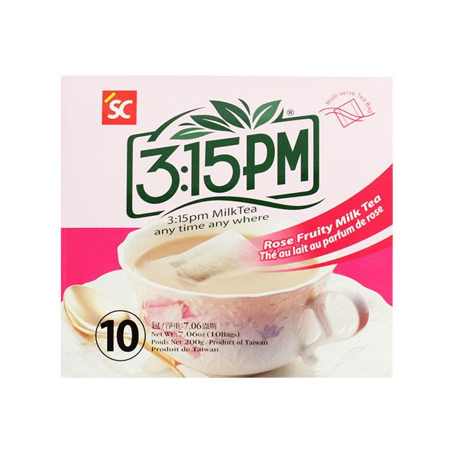 3:15PM Rose Fruity Milk Tea, 200.0 g (7.1 oz)