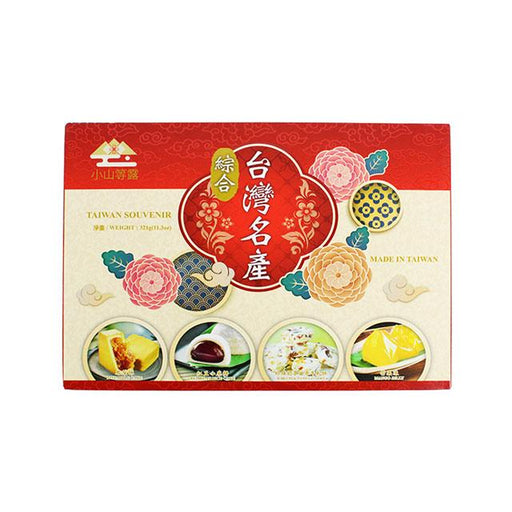 Taiwanese Snacks, Variety 4 Pack by Yi Xi, 321.0 g (11.3 oz)