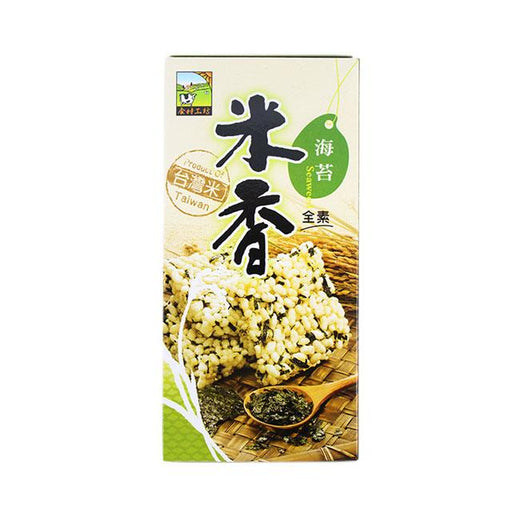 Seaweed Rice Crackers by Jia Her, 105.0 g (3.7 oz)