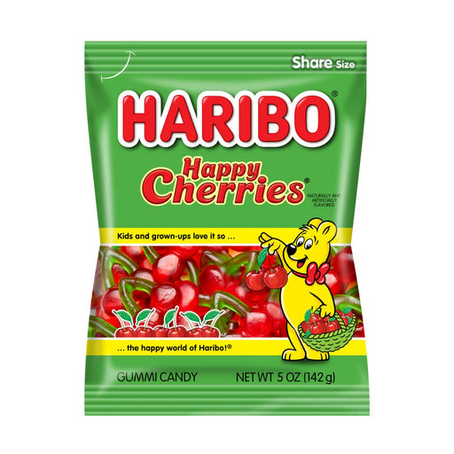 Haribo Happy Cherries Gummy Candy, 5 oz (142 g)