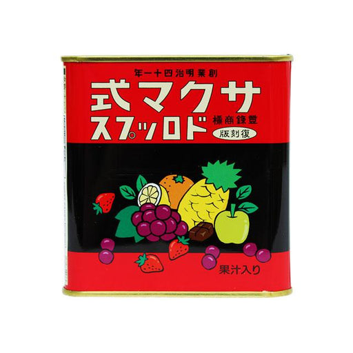 Fruity Hard Candy, Retro Tin by Sakuma, 4.0 oz (115.0 g)
