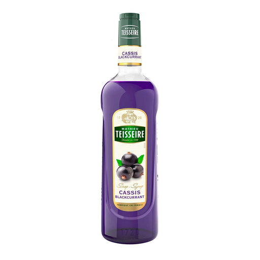Teisseire Cassis Blackcurrant Syrup, 23.6 fl oz (700 ml)
