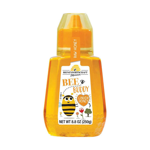Bee Buddy Linden Honey by Bienenwirtschaft, 8.8 oz (250 g)