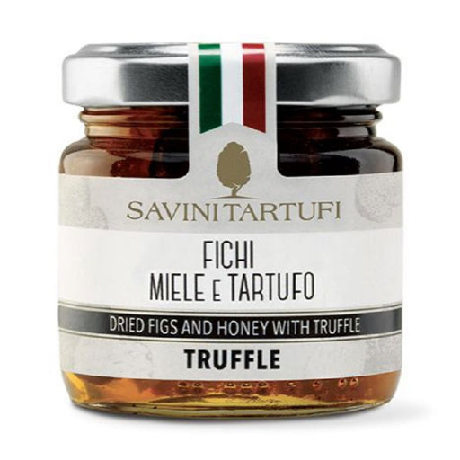 Savini Tartufi Dried Figs and Honey with Truffle, 4.4 oz (125 g)