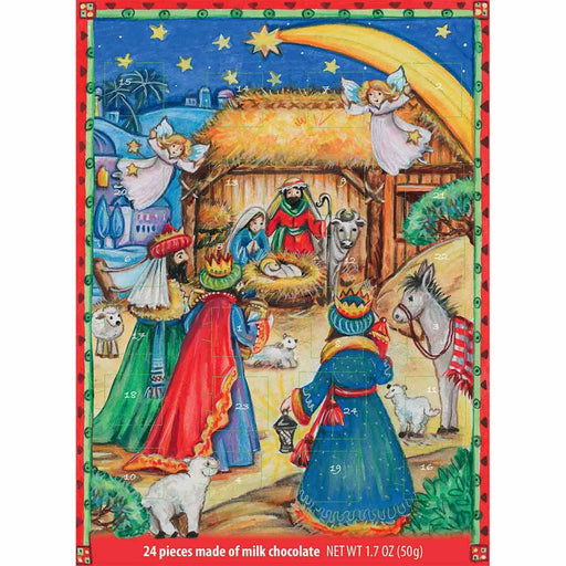 Windel Nativity Scene Advent Calendar, 1.7 oz (50 g)