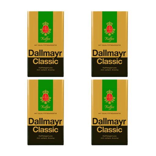 4 Pack Dallmayr Classic Roast Ground Coffee, 8.8 oz (250 g)