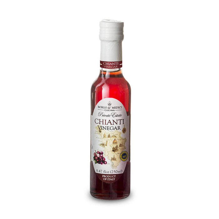 Borgo de Medici 100% Certified Chianti Wine Vinegar IGP, 8.5 fl oz (250 ml)