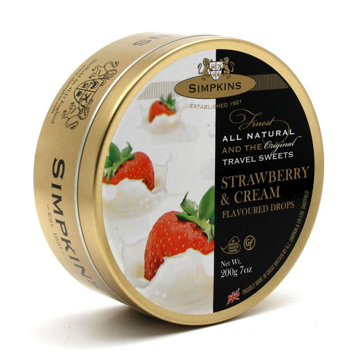 Simpkins Strawberry and Cream Drops, 7 oz (200 g)