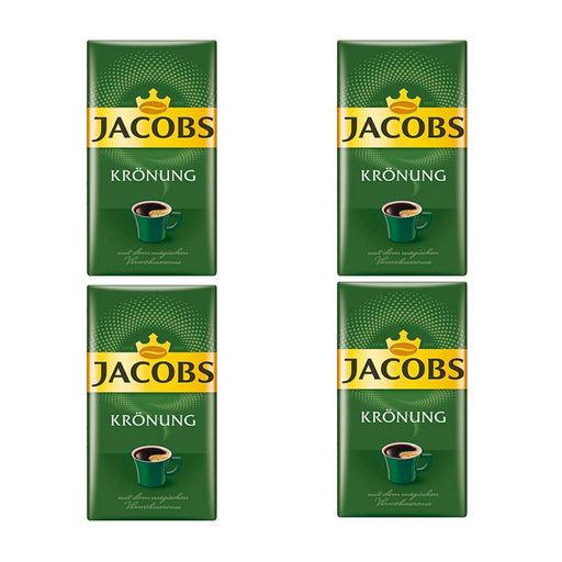 4 Pack Jacobs, 8.8 oz, Kronung Ground Coffee, (250g)