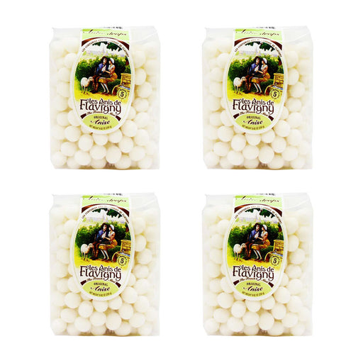 Les Anis de Flavigny Anise Candy 8.8 oz. (250 g) - PACK OF 4
