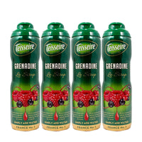 4 Pack Teisseire French Grenadine Syrup, 20 oz