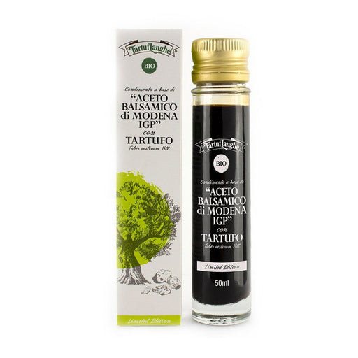 Tartuflanghe Organic Balsamic Vinegar of Modena with Summer Truffle IGP, 1.8 oz (50 ml)