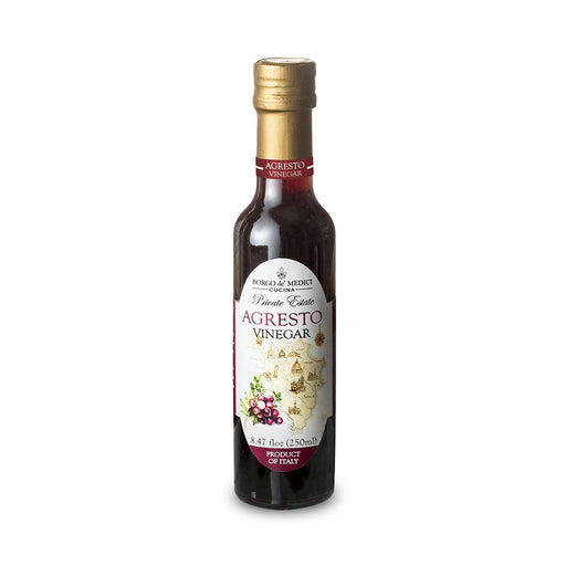 Borgo de Medici Agresto Tuscan Spiced Red Wine Vinegar, 8.5 fl oz (250 ml)