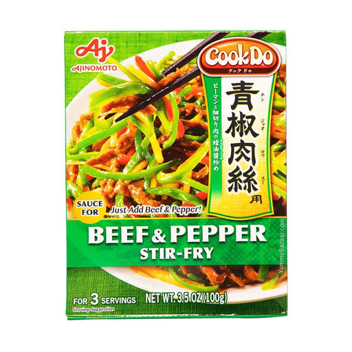 Ajinomoto CookDo Beef and Pepper Stir Fry Sauce, 3.5 oz (99.2233 g)
