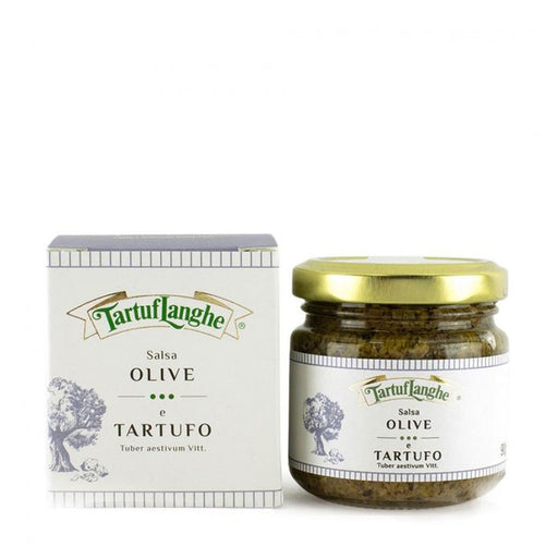 Tartuflanghe Olive and Truffle Salsa, 3.2 oz (90 g)