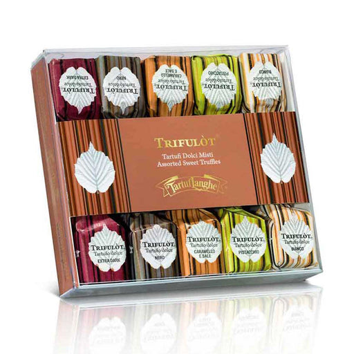 Tartuflanghe Trifulto Assorted Sweet Truffles, Italy Journey Edition, 2.5 oz (70 g)
