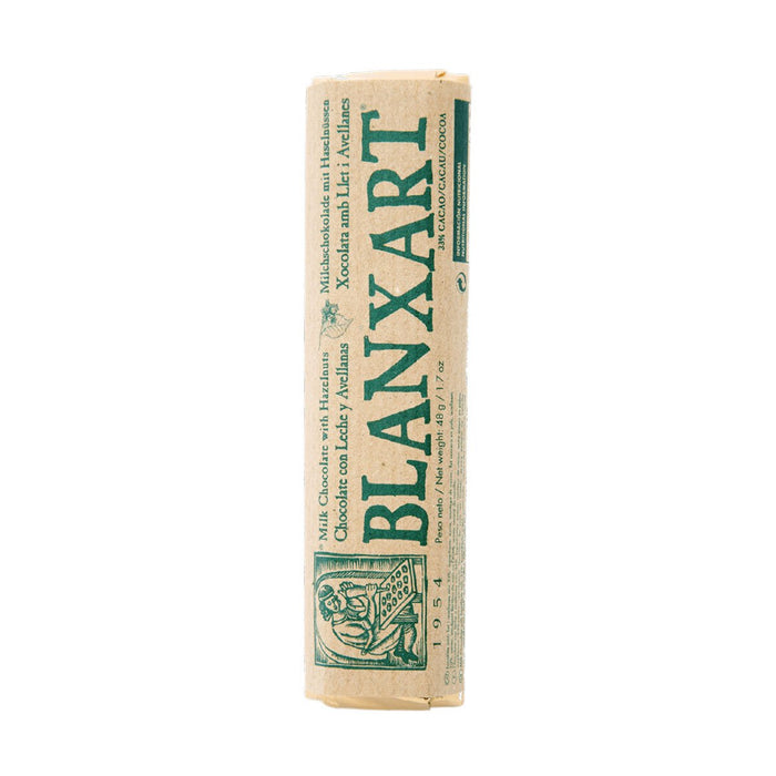 Blanxart Milk Chocolate with Hazelnuts, 1.7 oz (48 g)