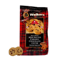 Walkers Salted Caramel and Chocolate Shortbread, 4.4 oz (125 g)