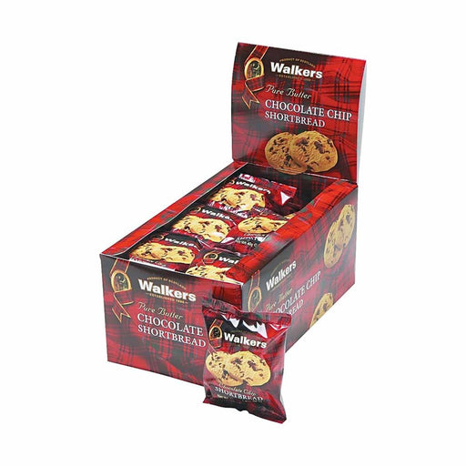 Walkers Chocolate Chip Shortbread, 20 x 1.4 oz (40 g)