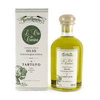 Tartuflanghe Extra Virgin Olive Oil with Summer Truffle, Large, 8.8 oz (250 ml)