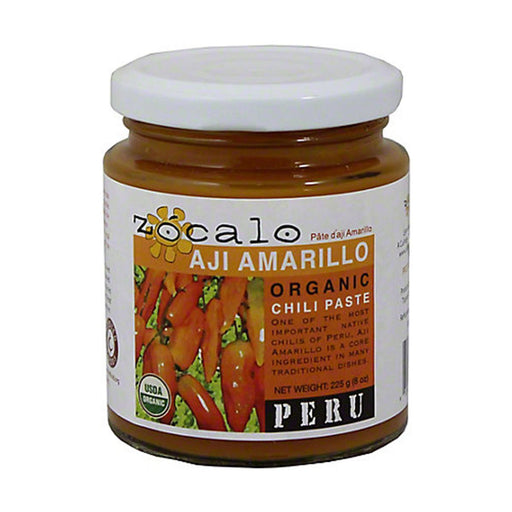 Zocalo Aji Amarillo Organic Chili Paste, 8 oz (225 g)