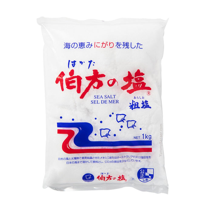 Hakata No Shio Premium Authentic Japanese Sea Salt, 2.2038 lb (0.9996 kg)