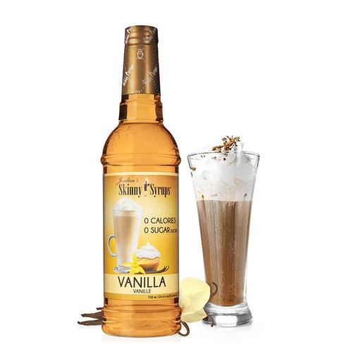Sugar Free Vanilla Syrup by Jordan's Skinny Mixes, 25.4 fl oz (750 ml)