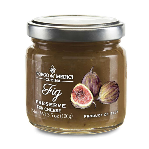 Borgo de Medici Fig Preserve for Cheese, 7.8 oz (110 g)