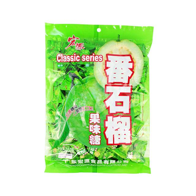 Guava Hard Candy by HongYuan, 350.0 g (12.3 oz)