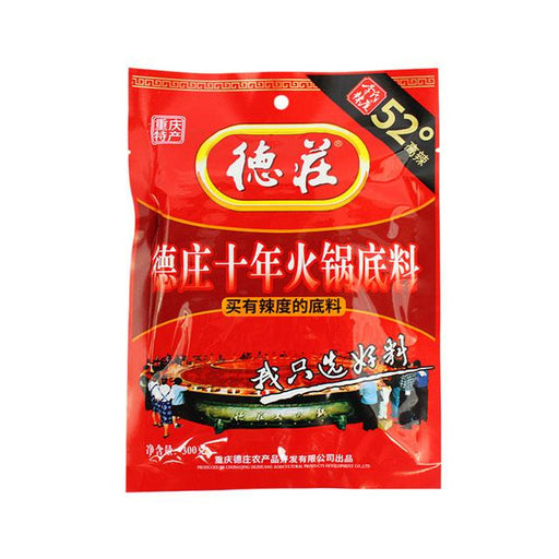 Dezhuang Hot Pot Soup Base, 300.0 g (10.6 oz)