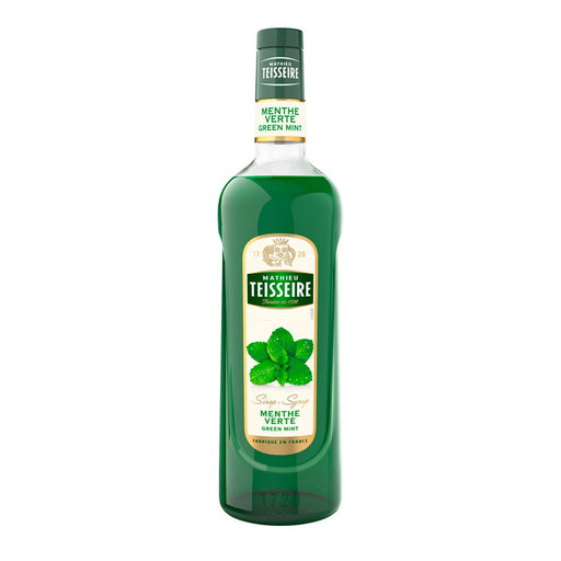 Teisseire Green Mint Syrup, 23.6 fl oz (700 ml)