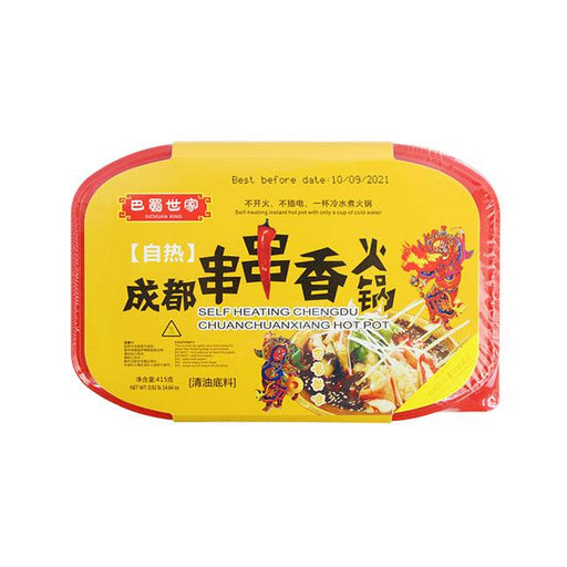 Chengdu Chuanchuanxiang Hot Pot, Self Heating by Sichuan King, 415.0 g (14.7 oz)