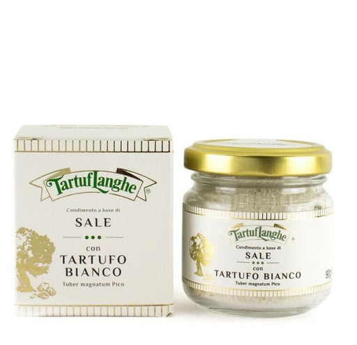 Tartuflanghe Guerande Grey Salt with White Truffle, Large, 3.2 oz (90 g)
