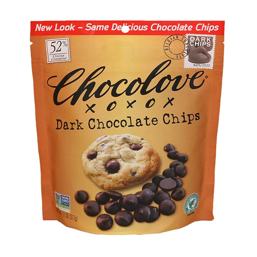 Chocolove Dark Chocolate Baking Chips, 11 oz (312 g)