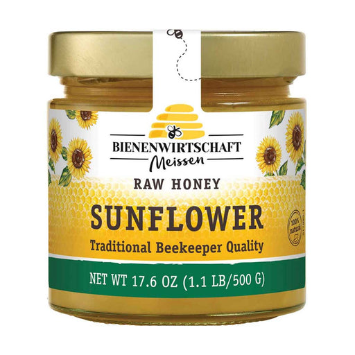 Sunflower Honey by Bienenwirtschaft, 1.1 lb (500 g)