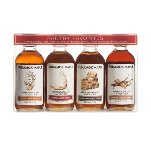 Runamok Maple Organic Pantry Favorites Maple Syrup Pairing Collections, 2 fl (60 g)