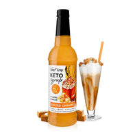 Keto Salted Caramel Syrup with MCT by Jordan's Skinny Mixes, 25.4 fl oz (750 ml)