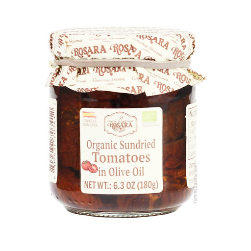 Rosara Organic Sundried Tomatoes in Olive Oil, 6.3 oz (180 g)