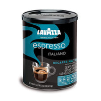 Lavazza Decaf Espresso Ground Coffee, 8 oz (227 g)