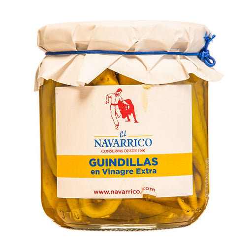 El Navarrico Guindillas Green Peppers, 10.5 oz (300 g)