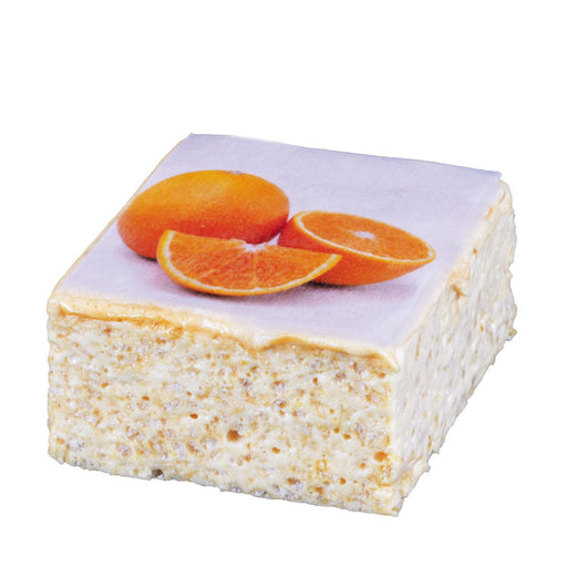 The Crispery Tropical Fruit Orange Marshmallow Rice Crispy Cake, 6 oz (168 g)