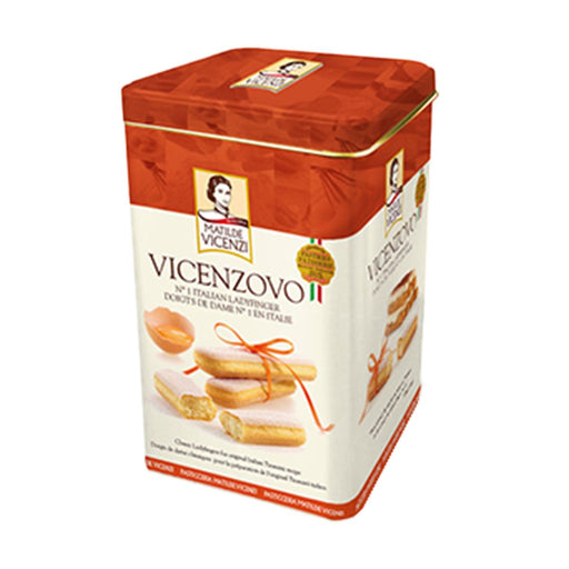 Matilde Vicenzi Ladyfinger in Gift Tin, 14 oz (400 g)