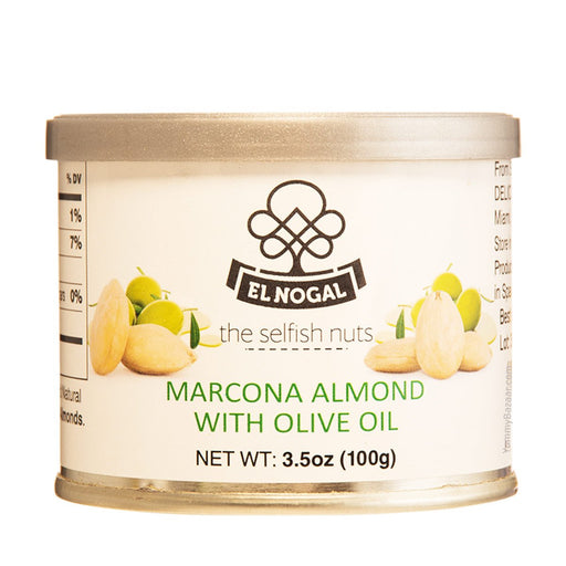 El Nogal Marcona Almonds with Olive Oil, 3.5 oz (100 g)