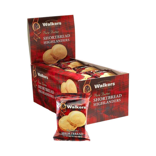 Walkers Highlanders Shortbread, 18 x 1.4 oz (40 g)