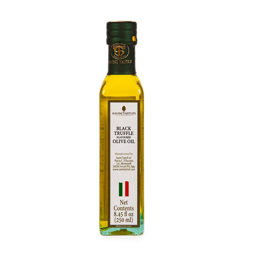 Savini Tartufi Black Truffle Olive Oil, 8.5 fl oz (250 ml)